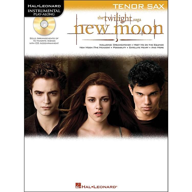 Hal LeonardTwilight: New Moon for Tenor Sax - Instrumental Play-Along CD/Pkg