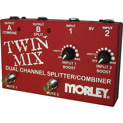 Morley Twin Mix ABY Switcher Splitter Combiner-thumbnail
