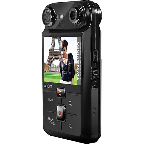 ION Twin Video Dual Lens Handheld Video Camera