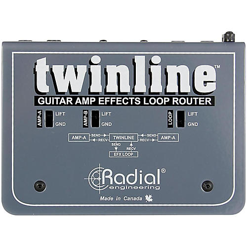 Radial Engineering Twinline Dual Effects Loop Interface for Two Amps-thumbnail