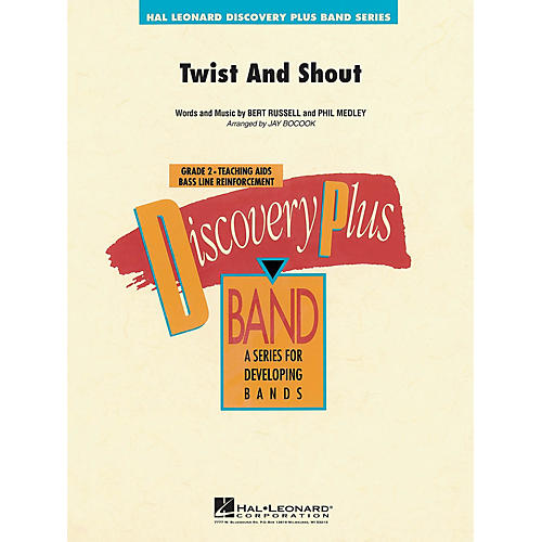 Hal Leonard Twist and Shout - Discovery Plus Concert Band Series Level 2 arranged by Jay Bocook-thumbnail