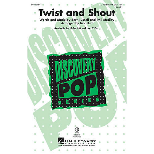 Hal Leonard Twist and Shout (Discovery Level 1) VoiceTrax CD Arranged by Mac Huff-thumbnail