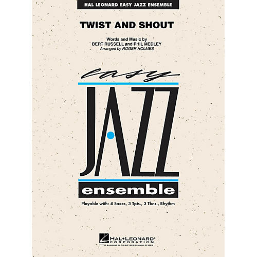 Hal Leonard Twist and Shout Jazz Band Level 2 by The Beatles Arranged by Roger Holmes-thumbnail