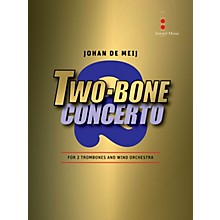 Amstel Music Two Bone Concerto (2 Trombones and Wind Orchestra) Concert Band Level 5 Composed by Johan de Meij