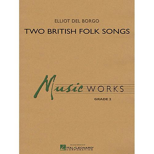 Hal Leonard Two British Folk Songs Concert Band Level 2 Composed by Elliot Del Borgo-thumbnail