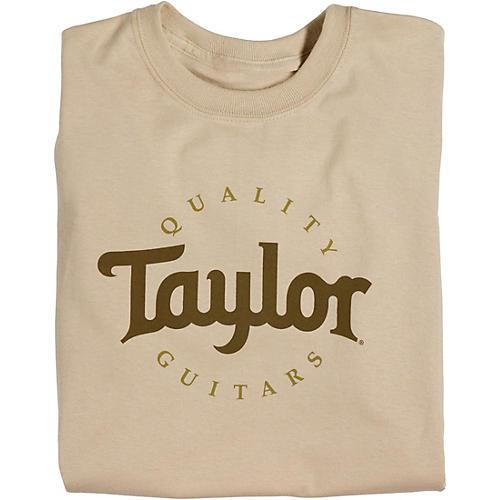 Taylor Two-Color Logo T-Shirt Sand-thumbnail
