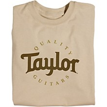 Taylor Two-Color Logo T-Shirt Sand XXX Large