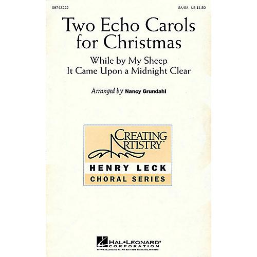 Hal Leonard Two Echo Carols for Christmas (SA/SA) SA/SA arranged by Nancy Grundahl-thumbnail