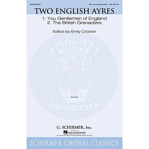 G. Schirmer Two English Ayres TB arranged by Emily Crocker-thumbnail