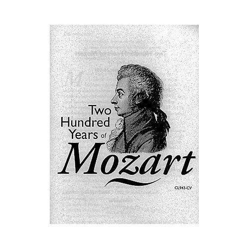 Clearvue Two Hundred Years of Mozart
