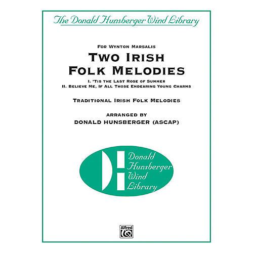 Alfred Two Irish Folk Melodies Concert Band Grade 4 Set-thumbnail