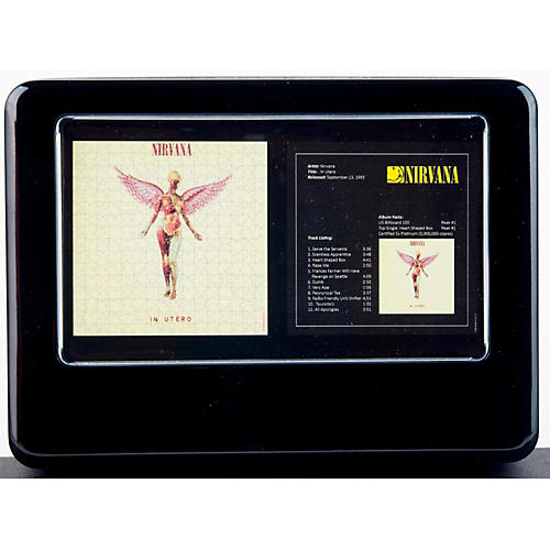 Iconic Concepts Two Nirvana In Utero Jigsaw Puzzles in Tin Gift Box