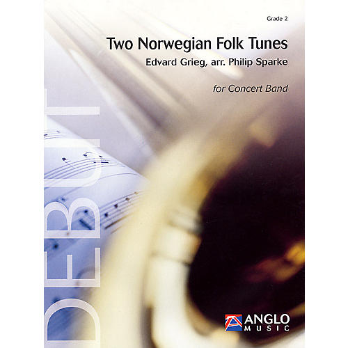 Anglo Music Press Two Norwegian Folk Tunes (Grade 2 - Score Only) Concert Band Level 2 Arranged by Philip Sparke-thumbnail
