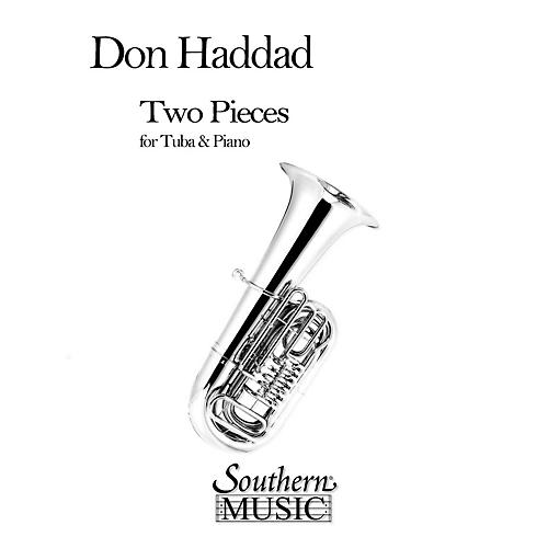 Southern Two Pieces (Tuba) Southern Music Series Composed by Donald Haddad-thumbnail
