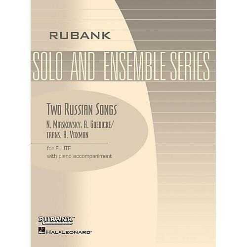 Rubank Publications Two Russian Songs (Flute Solo with Piano - Grade 1.5) Rubank Solo/Ensemble Sheet Series-thumbnail