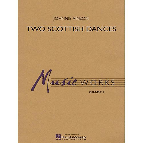 Hal Leonard Two Scottish Dances Concert Band Level 1.5 Arranged by Johnnie Vinson-thumbnail