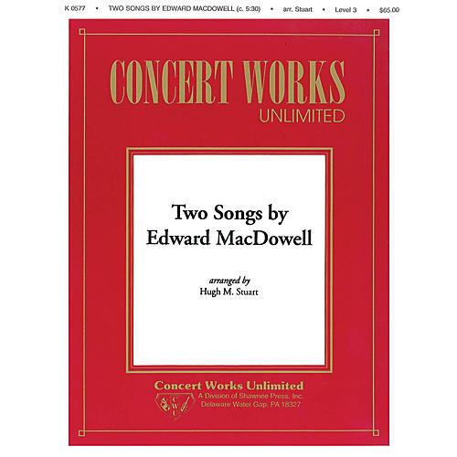 Hal Leonard Two Songs by Edward MacDowell Concert Band Level 3 Arranged by Hugh M. Stuart-thumbnail