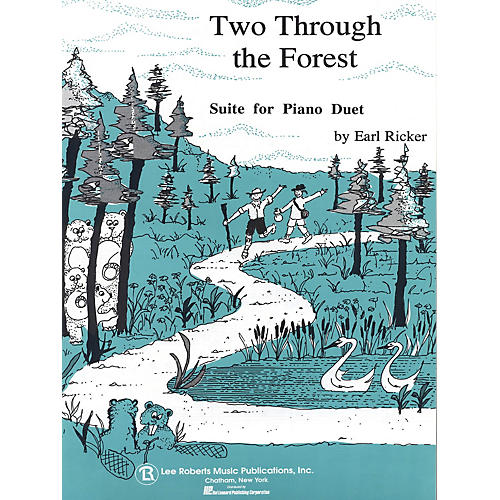 Lee Roberts Two Through the Forest (Level 3 Duet) Pace Piano Education Series Composed by Earl Ricker-thumbnail