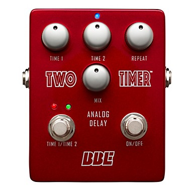 Two Timer Analog Delay Guitar Effects Pedal