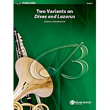 """Alfred Two Variants on """"Dives and Lazarus"""" Concert Band Grade 2 Set"""