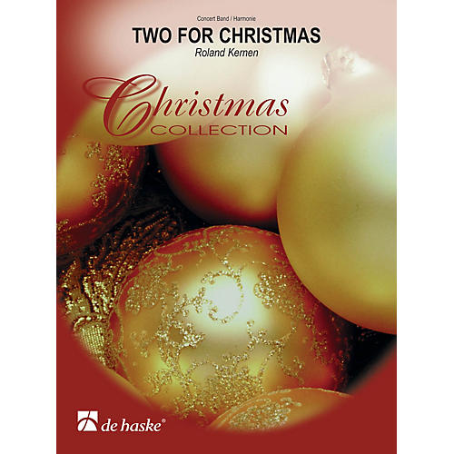 De Haske Music Two for Christmas Concert Band Level 3 Composed by Roland Kernen-thumbnail