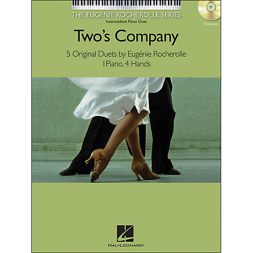 Hal Leonard Two's Company Eugenie Rocherolle Series: Intermediate Level Piano Duets Book/CD-thumbnail