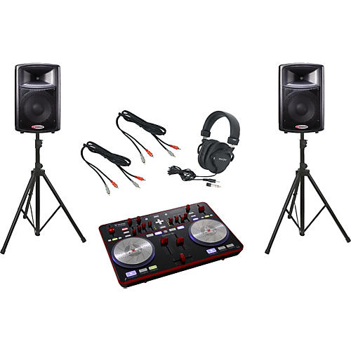 Vestax Typhoon / Harbinger APS12 DJ Package