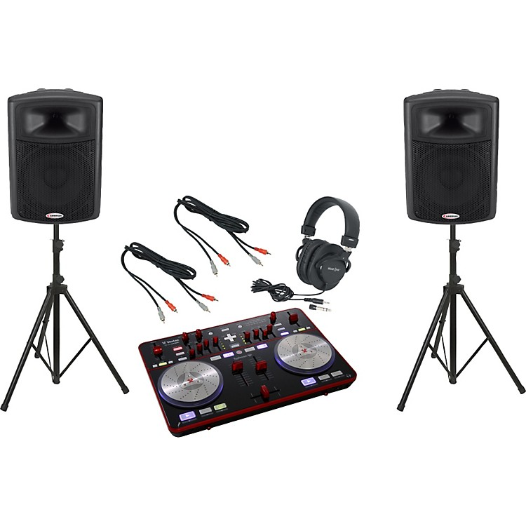 Vestax Typhoon / Harbinger APS15 DJ Package