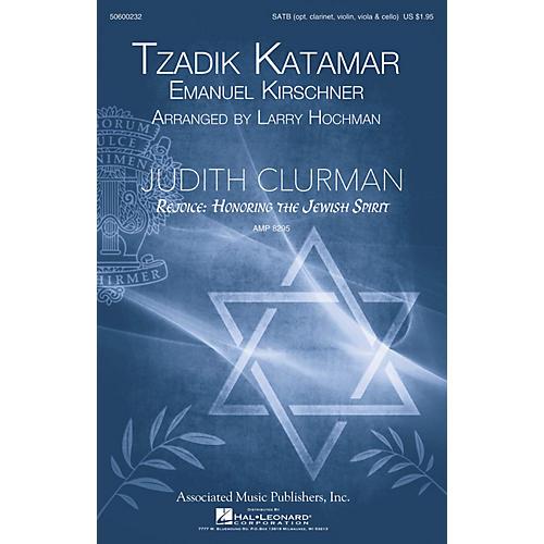 G. Schirmer Tzadik Katamar (Judith Clurman Choral Series) SATB arranged by Larry Hochman-thumbnail