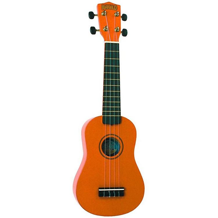Mahalo U-30 Painted Soprano Ukulele Brown