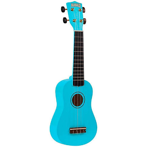 Mahalo U-30 Painted Soprano Ukulele Light Blue