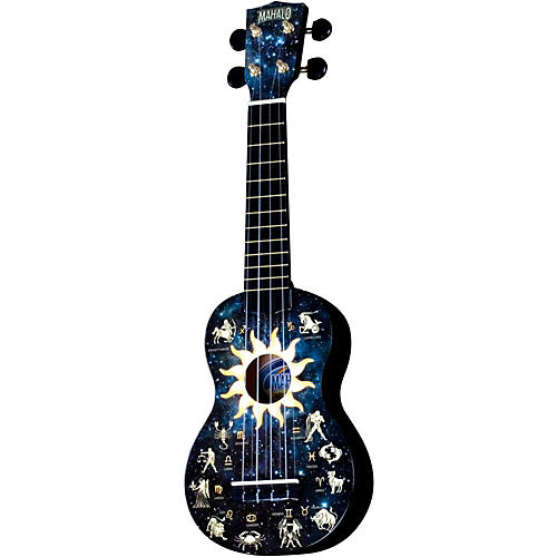 Mahalo U-40 Painted Ukulele Constellation