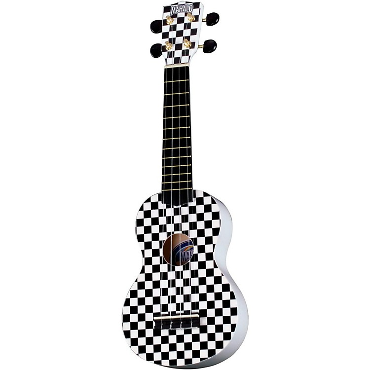 Mahalo U-40 Painted Ukulele Racing Flag