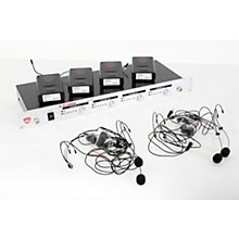 Nady U-41 Quad HM20U Headset Wireless System (14/16/10/12 ) Level 2 Black 888366001707