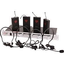 Nady U-41 Quad HM3 Headset Wireless System (14/16/10/12)