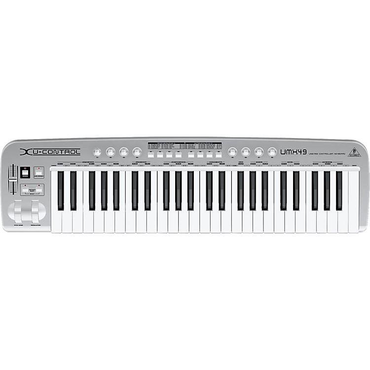 BehringerU-CONTROL UMX49 49-Key USB/MIDI Controller Keyboard
