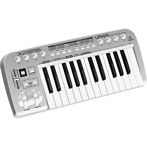 Behringer U-Control UMX25 25-Key USB-MIDI Controller Keyboard-thumbnail