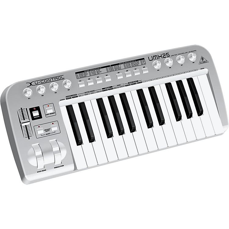 behringer u control umx25 25 key usb midi controller keyboard musician 39 s friend. Black Bedroom Furniture Sets. Home Design Ideas