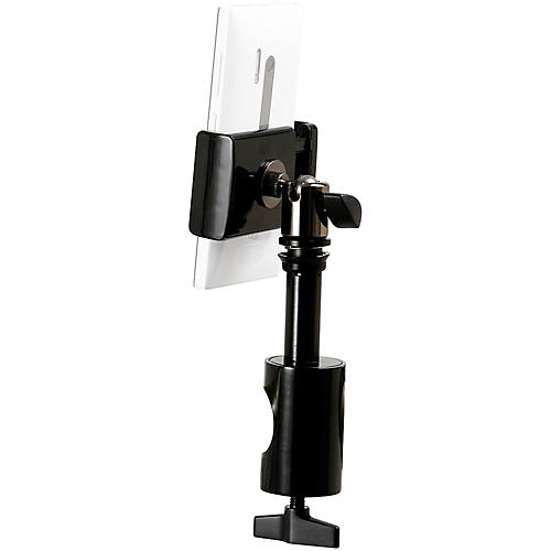 On-Stage Stands U-Mount TCM1901 Grip-On Universal Device Holder with Round Clamp-thumbnail