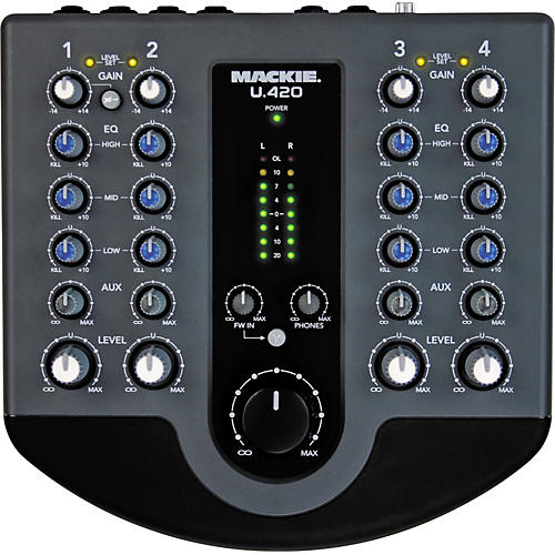 Mackie U.420 FireWire Production Mixer