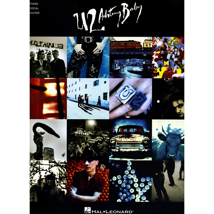 Hal LeonardU2 - Achtung Baby Piano/Vocal/Guitar Songbook