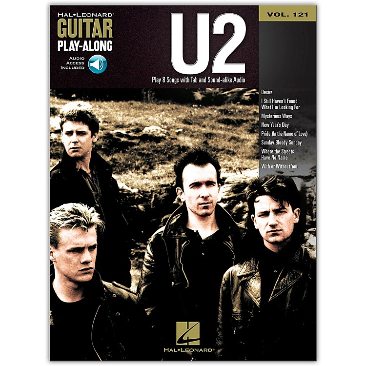 Hal Leonard U2 - Guitar Play-Along Volume 121 (Book/CD)