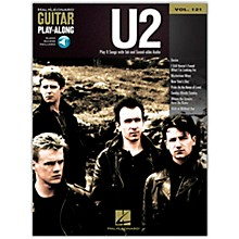 Hal Leonard U2 - Guitar Play-Along Volume 121 (Book/Online Audio)