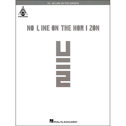 Hal Leonard U2 - No Line On The Horizon Tab Book-thumbnail