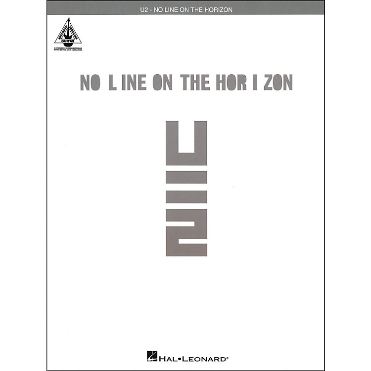 Hal Leonard U2 - No Line On The Horizon Tab Book