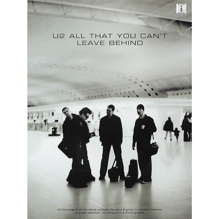 Hal Leonard U2 All That You Can't Leave Behind Guitar Tab Songbook