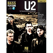 Hal Leonard U2 -Bass Play-Along Volume 41 Book/CD