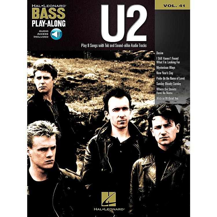 Hal LeonardU2 -Bass Play-Along Volume 41 Book/CD