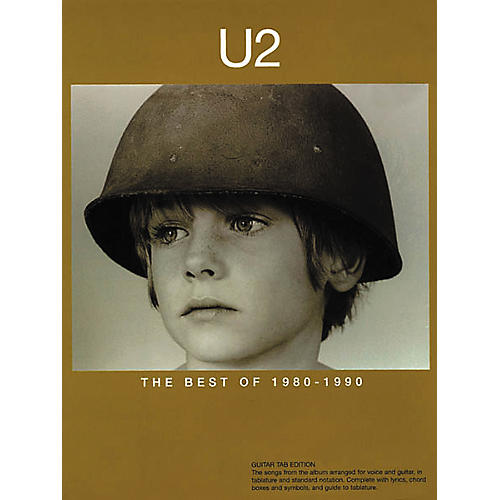 Hal Leonard U2 The Best of 1980-1990 Guitar Tab Songbook