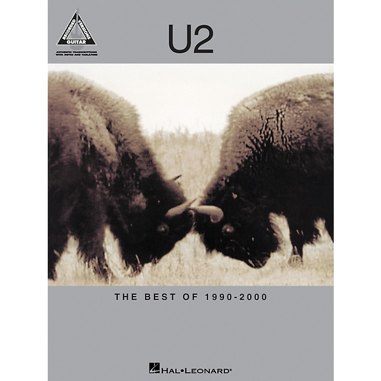 Hal Leonard U2 The Best of 1990-2000 Guitar Tab Songbook